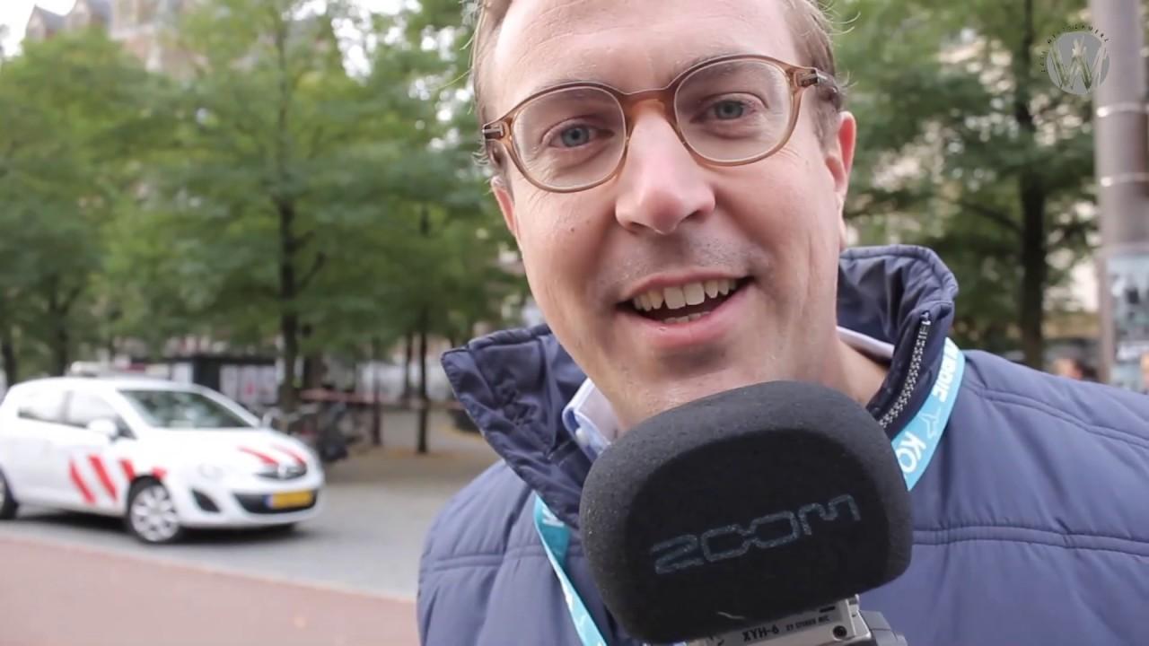 Het systeem in de verdediging: Sven Hulleman op locatie bij het klimaatprotest