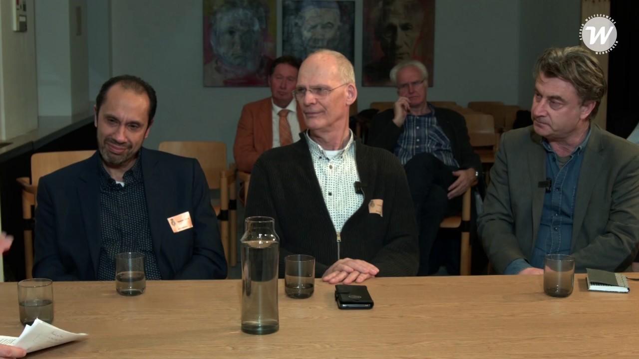 Het Huis voor Klokkenluiders in Studio Weltschmerz - debat in Den Haag olv. Rico Brouwer