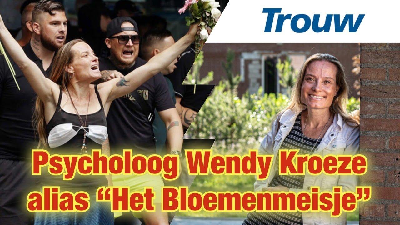 """Pyscholoog Wendy Kroeze alias """"Het Bloemenmeisje"""""""