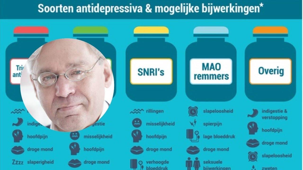 Antidepressiva, de slecht werkende melkkoe van de Pharma: Dick Bijl en Ramon Bril