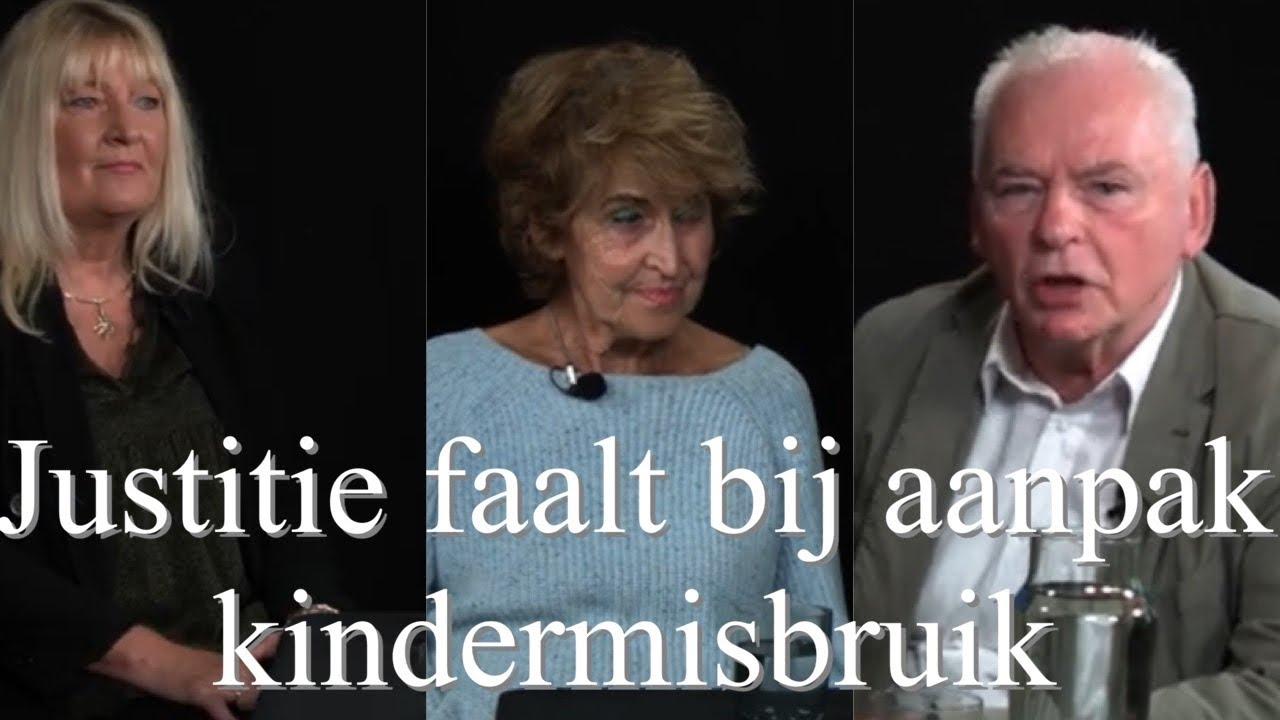 Justitie faalt bij vervolging kindermisbruik. Rudie Kagie, Yvonne Keuls en Marlies van Muiswinkel