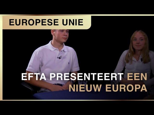 Burgerinitiatief EFTA presenteert haar blik op Europa. Ramon Bril, Leon Baten, Marie de Boer