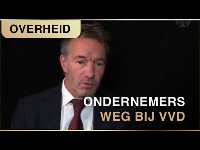 Alle ondernemers weg bij de VVD