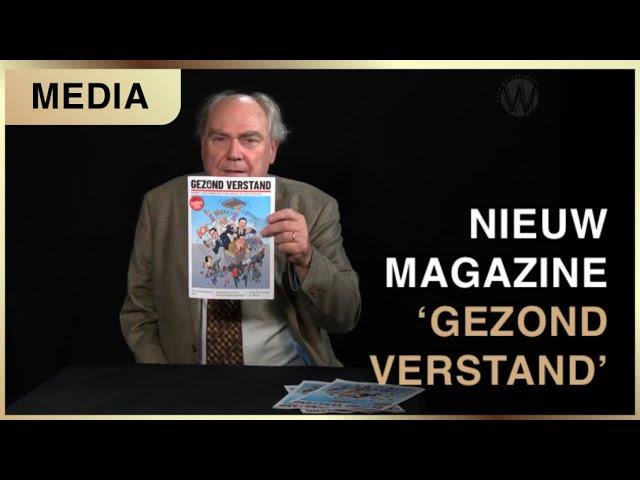 Nieuw Magazine Gezond Verstand Cafe Weltschmerz