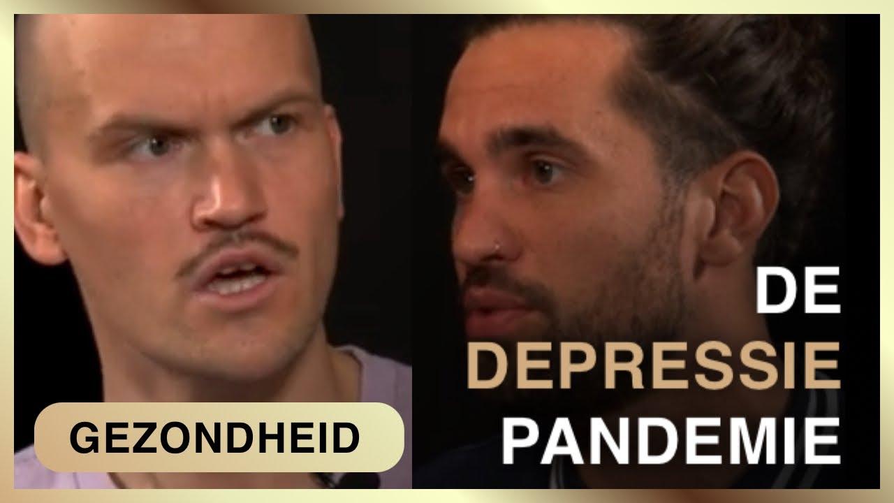 De pandemie van depressie. Jorn Lukaszczyk met Jef Eagle.