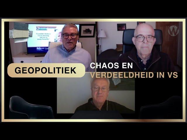 Chaos en verdeeldheid in de VS | Pim van Galen, Hans Kriek en Guy Penard.