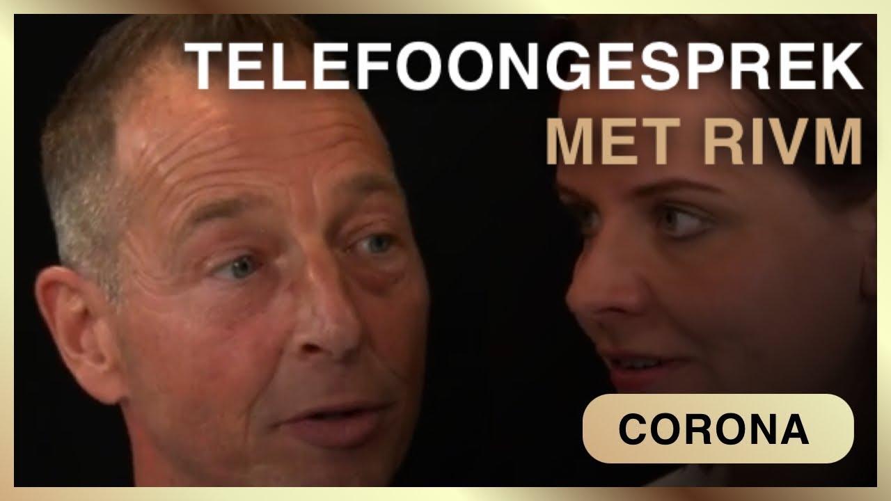 Onthullend telefoongesprek met RIVM. Fiona Zwart met Peter Grootwagers en Ferdinand van der Neut.