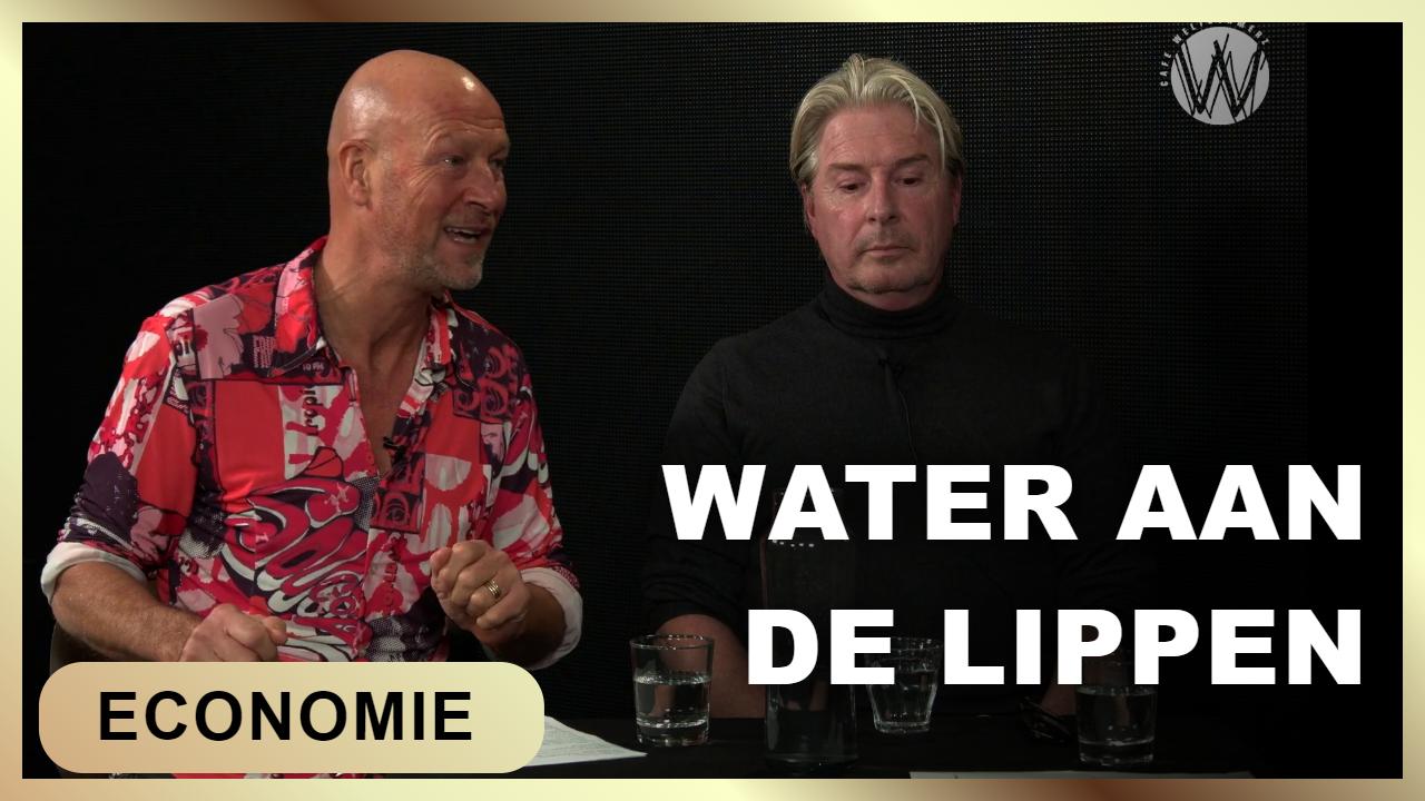 water aan de lippen