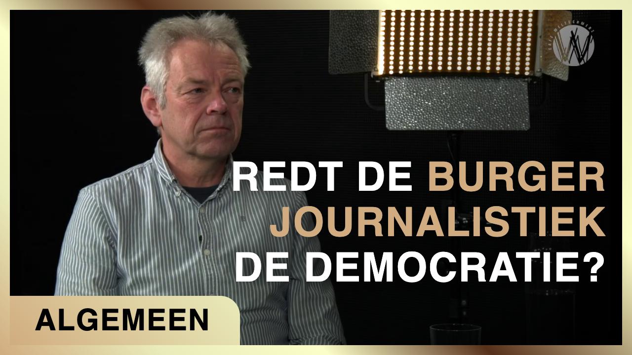 red de burgerjournalistiek de democratie