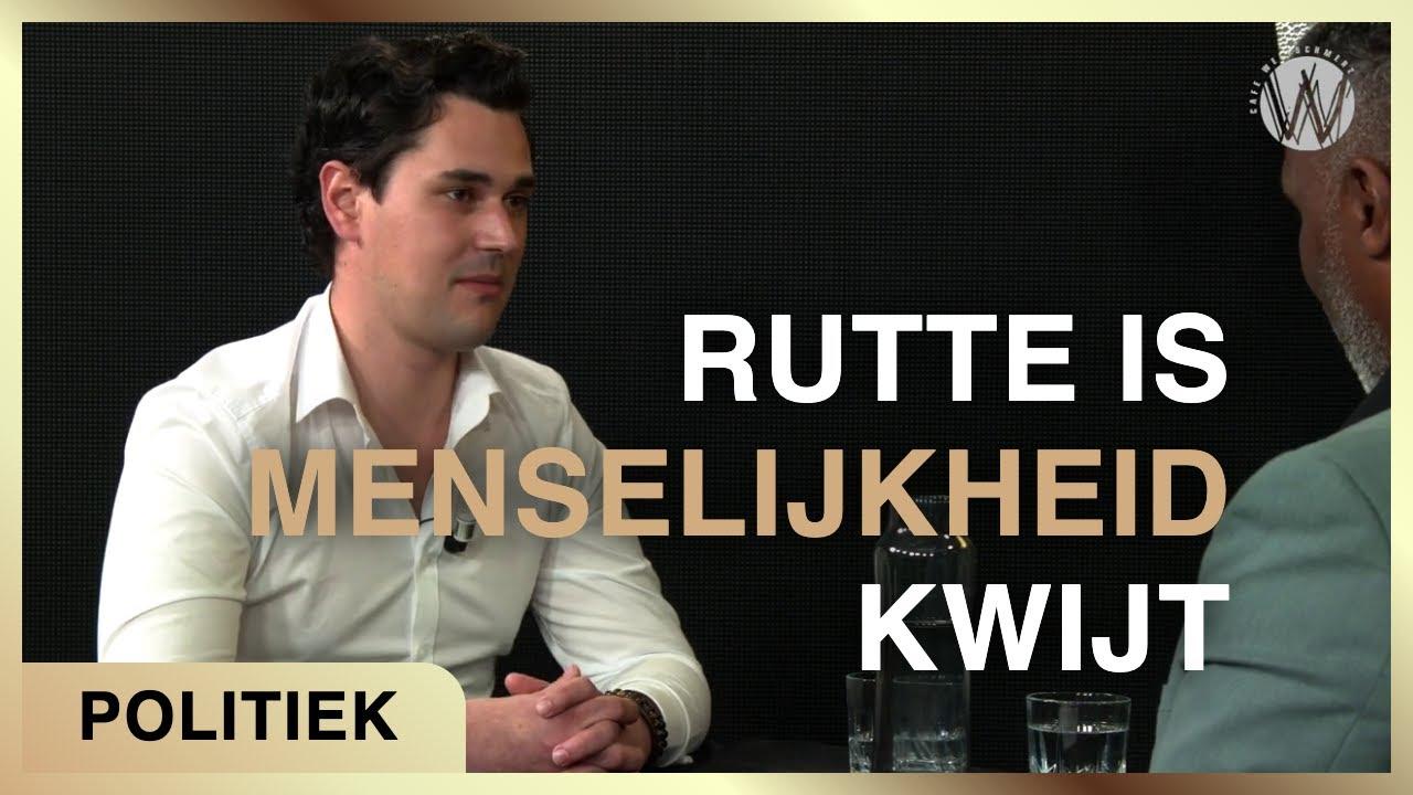 """""""Rutte is menselijkheid kwijt"""" - George van der Leeden met Ghislen Nysten"""