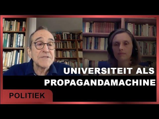 De universiteit als propagandamachine - Elze van Hamelen met Mark Crispin Miller