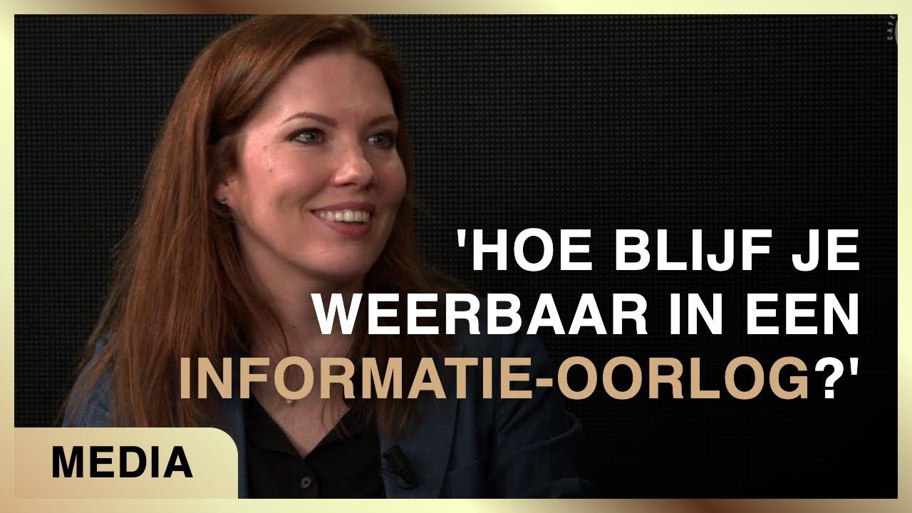 'Hoe blijf je weerbaar in een informatie-oorlog?' - Fiona Zwart met Laura Slot