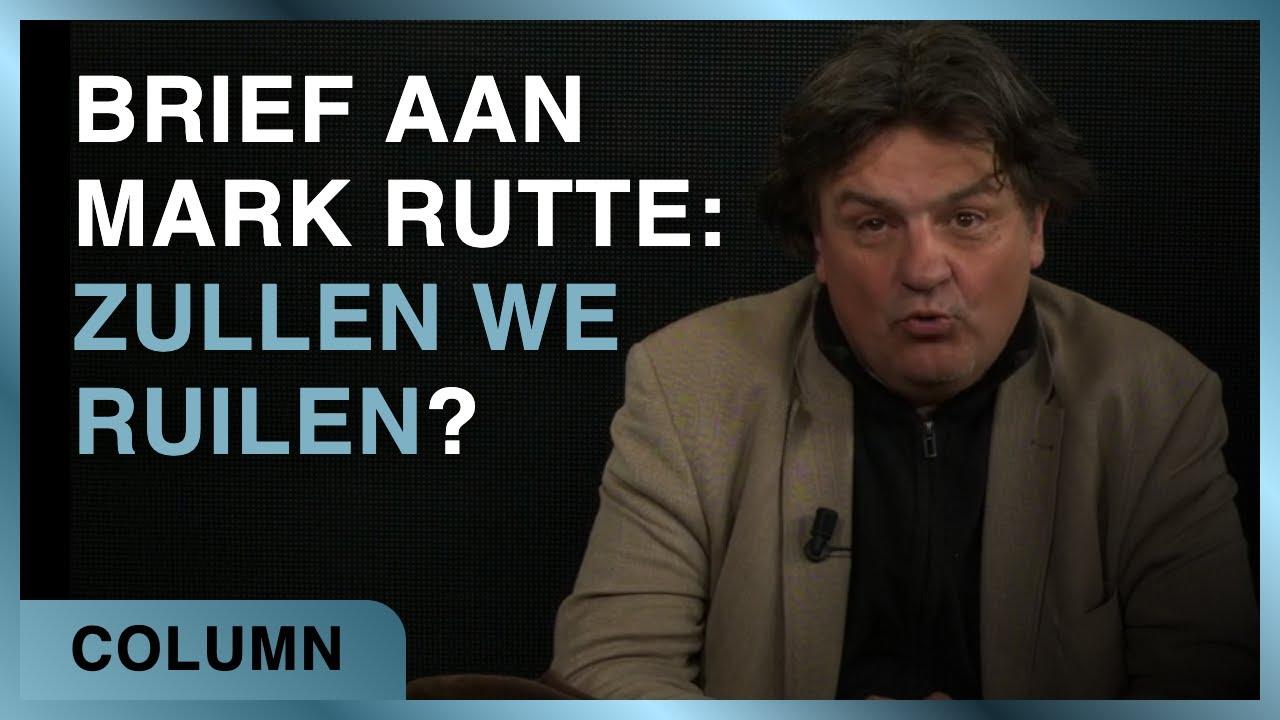 Brief aan Mark Rutte: zullen we ruilen? - Ab Gietelink #58