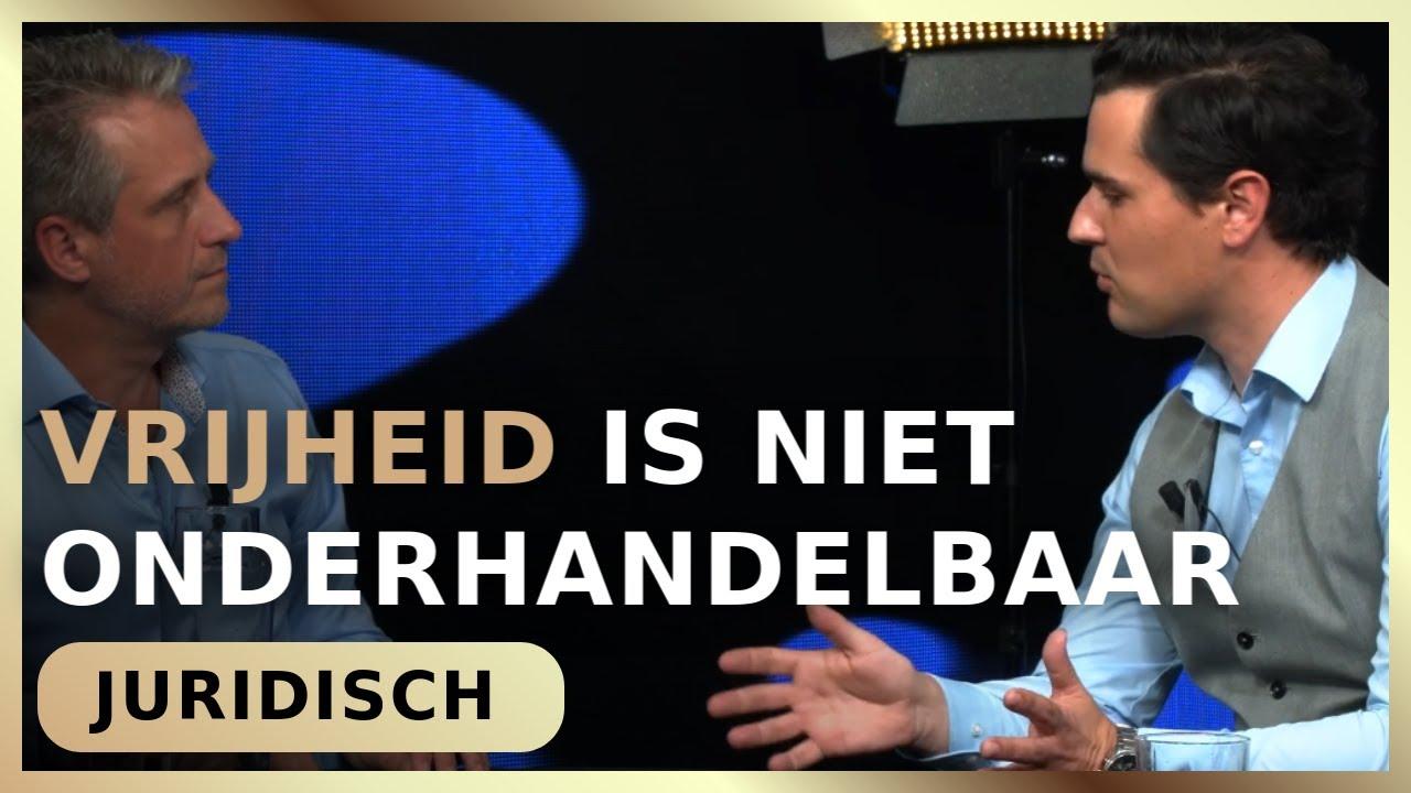 Vrijheid is niet onderhandelbaar - Erik van der Horst met Ghislen Nysten