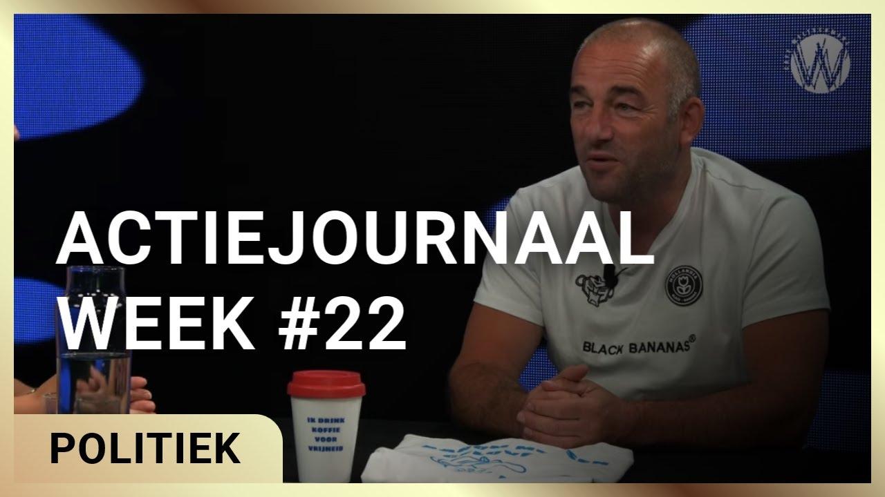 Actiejournaal week #22. Martina Groeneveld met Michel Reijinga