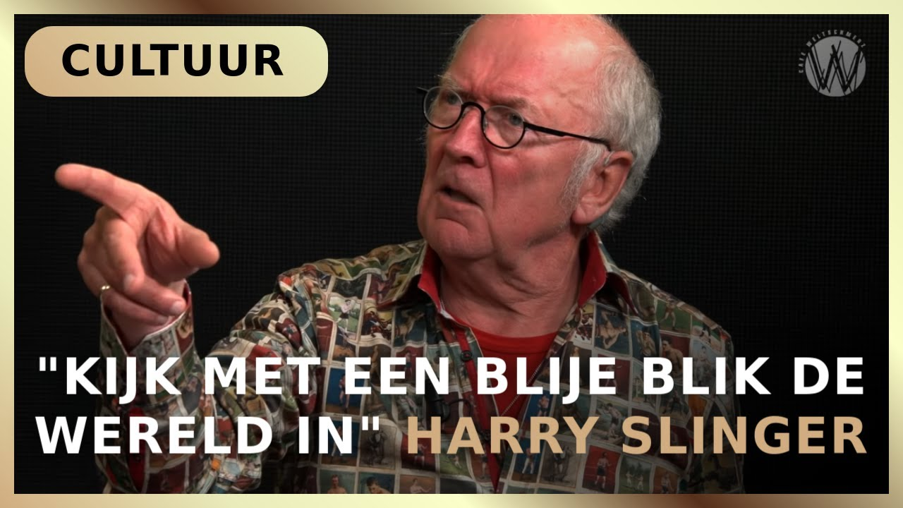 """""""Kijk met een blije blik de wereld in"""" - Ad Nuis en Harry Slinger"""