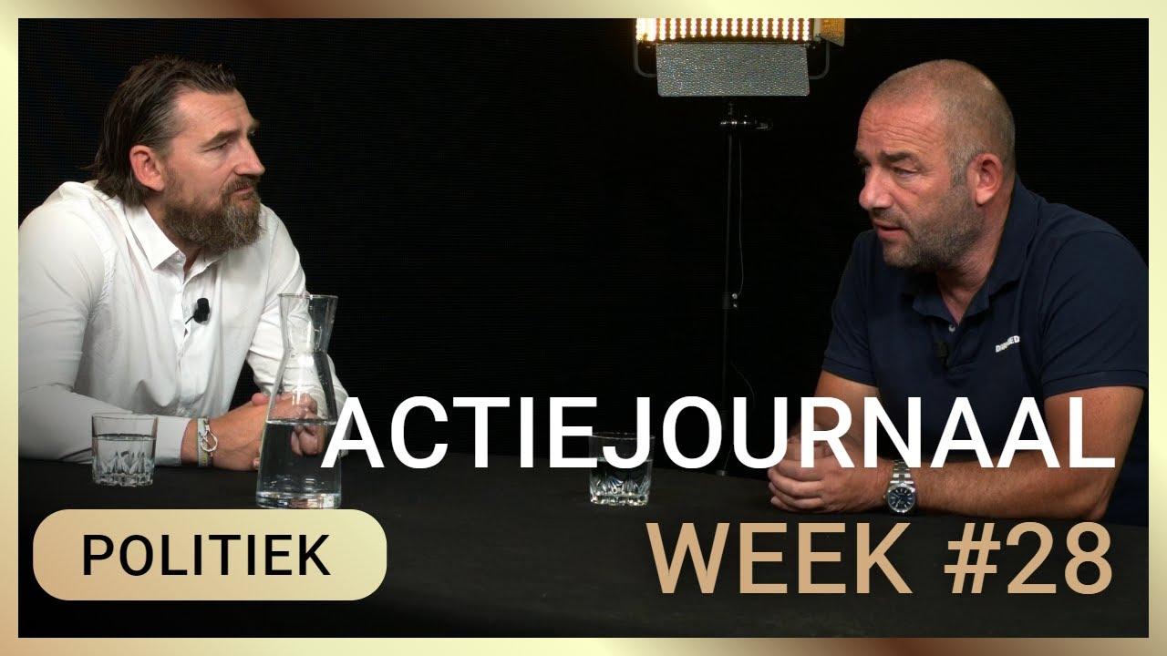 Actiejournaal week 28 - Daan van den Berg met Michel Reijinga