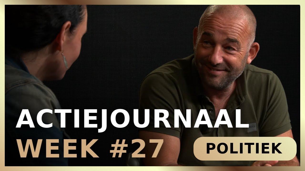 Actiejournaal week #27 - Martina Groenveld met Michel Rijinga