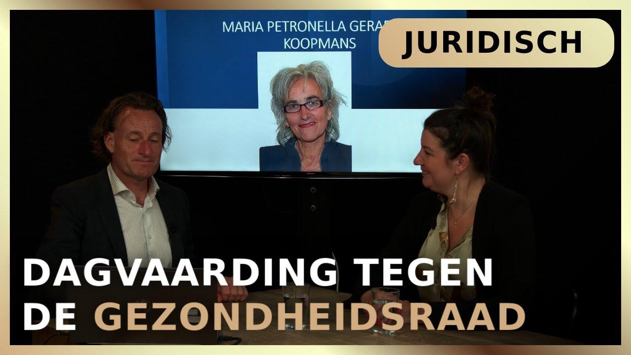 Dagvaarding tegen de Gezondheidsraad - Jeroen Pols en Maria-Louise Genet
